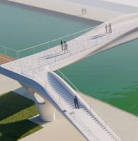 3D-printed footbridge to be built for 2024 Olympics image