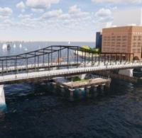 Boston picks design for new Northern Avenue Bridge image