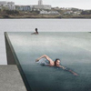 Bridge with a swimming pool wins Icelandic design competition image