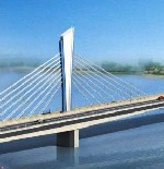 Cambodia begins work on cable-stayed bridge image