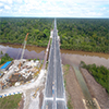 Chinese contractor completes 12km section of Brunei viaduct  image