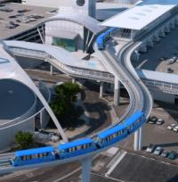 Construction gets under way of $4.9bn LA people mover image