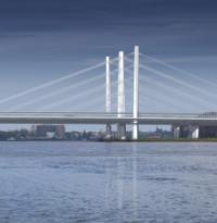 Contract awarded for Rhine cable-stayed bridge image