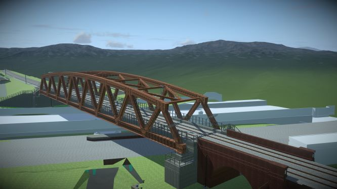 Contract awarded for UK rail bridge image