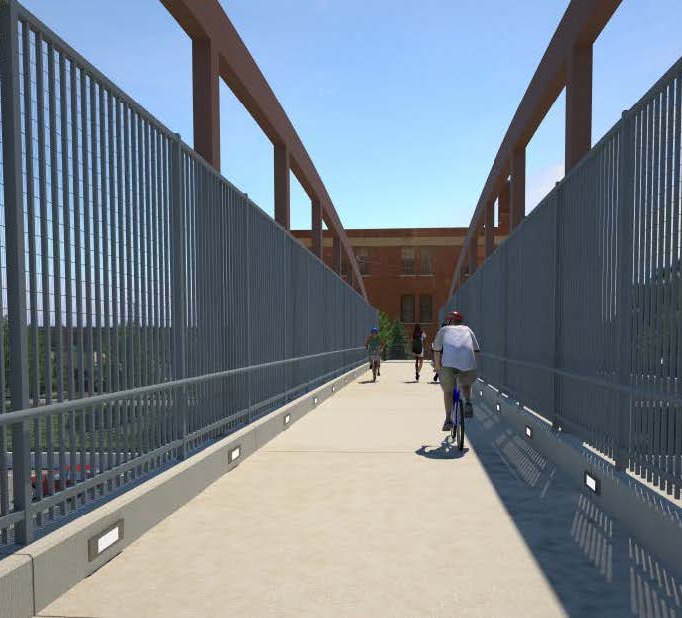 Design selected for five footbridges in Detroit, USA image