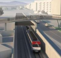 Designers picked for footbridge over Spanish high-speed line image