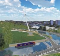 Go-ahead given for Glasgow canal bridge image