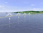 Groundbreaking takes place for Kinmen bridge image