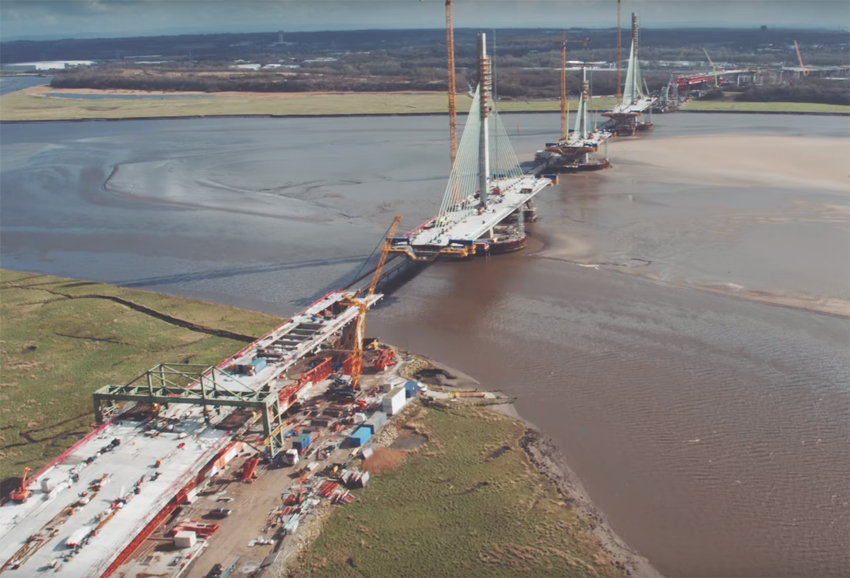 Latest from the Mersey Gateway image