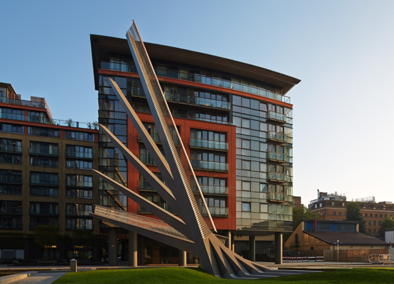 Merchant Square movable bridge opens to the public image