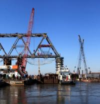 Milestone reached on China-Russia bridge image