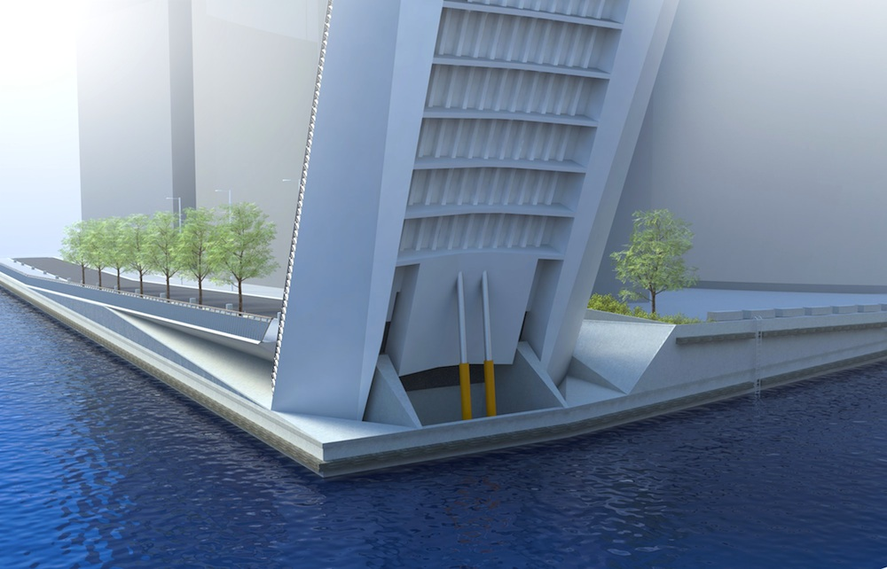 Movable bridge in London gets planning consent image