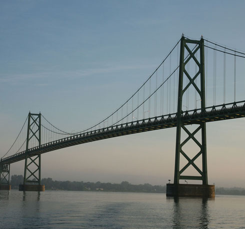 Ogdensburg-Prescott bridge to be monitored by Clarkson University image