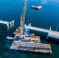 Partial opening of Pensacola Bay Bridge targeted in March  image