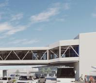 Perth Airport 'skybridge' begins to take shape image