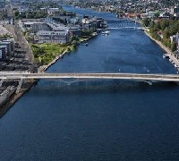 Plans approved for new Norwegian bridge image