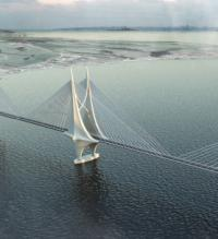 Proposal for 14km Australian bridge divides local opinion image