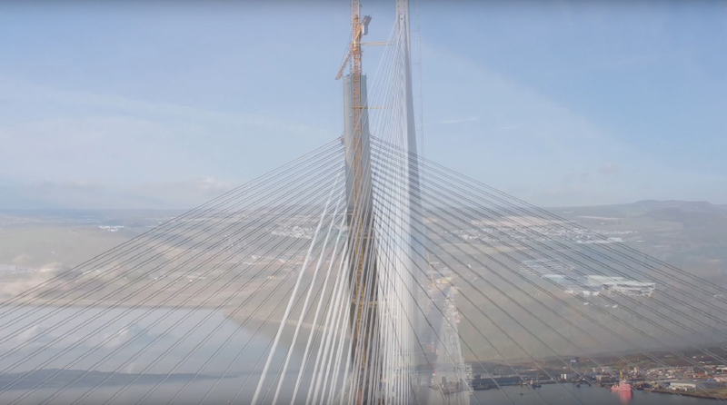 Queensferry  Crossing construction enters the final phase image