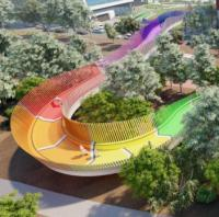 Rainbow-coloured bridge planned for Australian children's hospital image