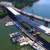 Tappan Zee deck construction under way image