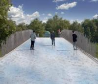 Winner unveiled in Dublin bridge design competition image