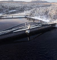 Winning team chosen in Swedish bridge design contest image