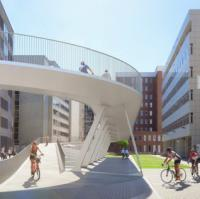 Antwerp approves new cycle ramp to Park Bridge logo