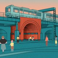 Winning design picked for rail bridge transformation logo