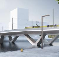 Construction contract awarded for Helsinki bridge logo