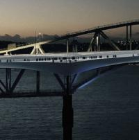 Design unveiled for extension to Auckland Harbour Bridge logo