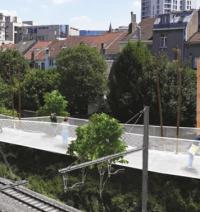 Agreement signed for Brussels footbridge logo