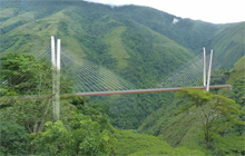 Firm chosen for replacement of collapsed Chirajara Bridge in Colombia logo