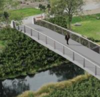 Concept design completed for Christchurch footbridge logo