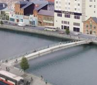 Contract awarded for Cork footbridge logo