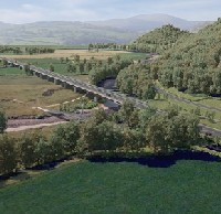 Construction of Dyfi Bridge set to start logo