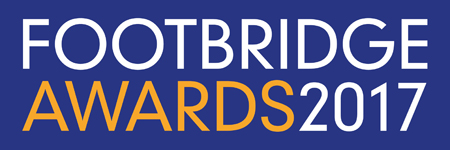 Footbridge Awards 2017 logo