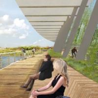 Way forward approved for Tulsa footbridge logo
