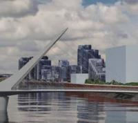 Glasgow unveils concept for Govan-Partick Bridge logo