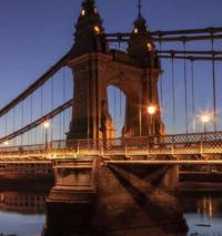 'Critical faults' force closure of London's Hammersmith Bridge logo