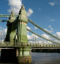 Growing cracks force full closure of Hammersmith Bridge logo