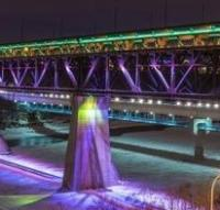 Study rules out light rail on Edmonton's High Level Bridge logo