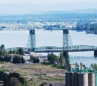 Ports call for new bridge over Columbia River logo