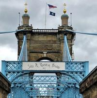 Temporary fix set to enable reopening of historic bridge logo
