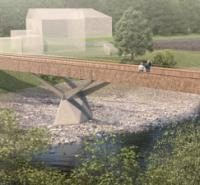 Planning go-ahead for new bridge over the River Usk in South Wales logo