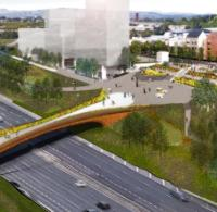 Contract awarded for Glasgow footbridge logo