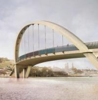 Construction contract awarded for Auckland arch bridge logo