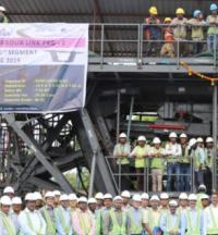 Superstructure erection begins for 21.8km Mumbai harbour link logo