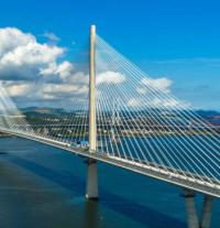 Auditor praises management of Queensferry Crossing logo