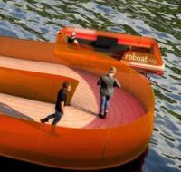 Researchers to trial dynamic 'bridge' made from autonomous boats logo