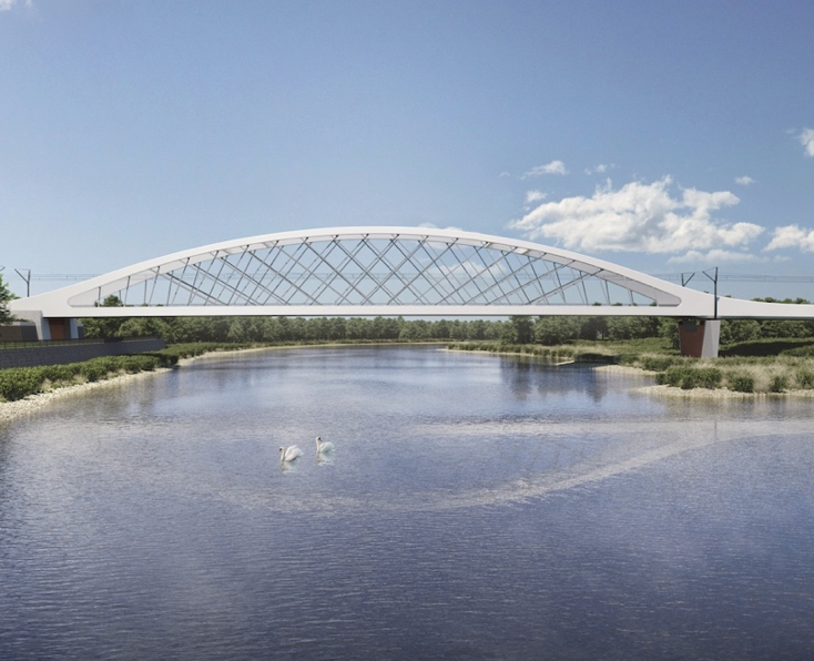 Rail bridge between Germany and Poland secures planning permission logo